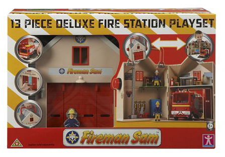 Sam Toys Station Fire Station Playset Toy