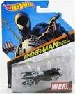 Hot Wheels Marvel Character Cars - Spiderman Black Costume