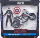 Captain America 3.75inch Figure & Vehicle
