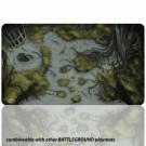 Blackfire Playmat - Battleground Edition Swamp - Ultrafine 2mm BF08896