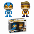 Funko POP! DC - Blue Beetle & Booster Gold 2-Pack Vinyl Figures 10cm Limited FK23385