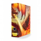 Dragon Shield Slipcase Binder - Red art Dragon