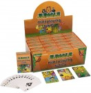 FUN STATIONERY CARDS PLAYING MINI JUNGLE 6 X 4CM 3 ASST S51098