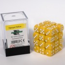 Blackfire Dice Cube - 12mm D6 36 Dice Set - Opaque Yellow 91687