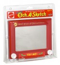 Red Etch a Sketch - Toy