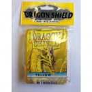 Dragon Shield Small Sleeves - Yellow (50 Sleeves) 10114