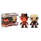 Funko POP! Horror - Bloody Freddy Krueger & Jason Voorhees 2-Pack Vinyl Figure 10cm limited FK12115