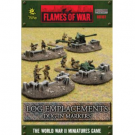 Battlefield In A Box - Log Emplacements - Dug In Markers BB107