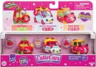 Shopkins - Cutie Cars 3 Pack 4 - S3 styles vary /Toys