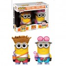 Funko POP! Despicable Me 3 - Tourist Dave & Tourist Jerry Vinyl Figure 10cm 2-Pack Limited FK14349