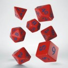 Galda spēle Classic Runic Red & blue Dice Set (7) QWSSCLR2A