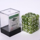 Blackfire Dice Cube - 12mm D6 36 Dice Set - Marbled Grass Green 91721