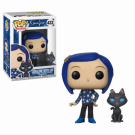 Funko POP! Coraline: Coraline with Cat buddy Vinyl Figure 10cm FK32811
