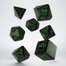 Galda spēle Call of Cthulhu Black & green Dice Set (7) SCTH21