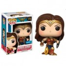 Funko POP! Marvel Wonder Woman The Movie - Wonder Woman Battle Pose w/ Shield Figure 10cm limited FK12547