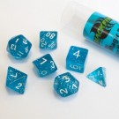 Blackfire Dice - 16mm Role Playing Dice Set - Magic Blue (7 Dice) 40038