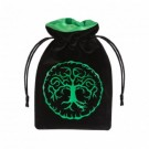 Galda spēle Forest Black & green Velour Dice Bag BFOR121