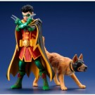 DC Universe Super Sons - Robin & Ace The Bat-Hound ARTFX+ 1/10 Scale 2-Pack Statue KotSV222