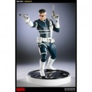 Marvel Collection Nick Fury Comiquette 16-inch polystone statue limited edition (TBD) 200052