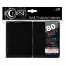 UP - Standard Sleeves - PRO-Matte Eclipse - Black (80 Sleeves) 85345