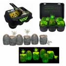 Aliens Xenomorph Egg 'GLow-In-The-Dark' 6-Pack in Collectible Box (6+3 Facehuggers) NECA51356