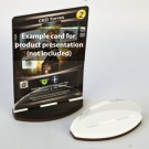 Blackfire Card Stands - Black/White (2 Pack) 40182