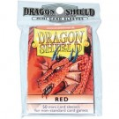 Dragon Shield Small Sleeves - Red (50 Sleeves) 10107