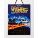 Back to the future Wooden Poster 1 DCBTTF03