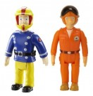 Fireman Sam – 2 figure Pack - Quad Bike Sam & Pilot Tom  Toy - Rotaļlieta