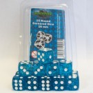 Blackfire Dice - 16mm D6 Dice Set - Glitter Blue (15 Dice) 40013