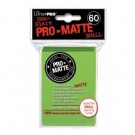 UP - Small sleeves - Pro-Matte - Lime Green (60 Sleeves) 84272