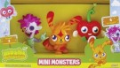 Moshi Mini Monster Figurines – Pack of 3