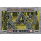 Battlefield in a Box - Rock Outcrops BB545