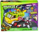 Mega Bloks Teenage Mutant Ninja Turtles Party Wagon Building Set