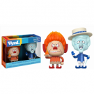 Funko Holiday Vynl.! The Year without a Santa Clause - Heat Miser & Snow Miser 2-Pack Vinyl Figures 10cm FK22972