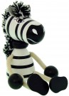 ABA - (40187) Zebra Sitting Figure (Medium) /Toys
