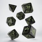 Galda spēle Call of Cthulhu Black & glow-in-the-dark Dice Set SCTH19
