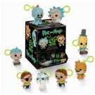 Funko Keychains - Rick and Morty Blindbags Display (18 random packaging) Plush Figures 7cm FK26847