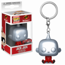 Funko POP! Keychain: Disney: The Incredibles 2: Metallic Jack-Jack - Vinyl Figure 4cm FK30199