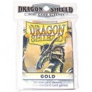 Dragon Shield Small Sleeves - Gold (50 Sleeves) 10106