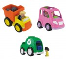 Fisher Price - Little People Mid Vehicles (BHY19) - Toy - Rotaļlieta