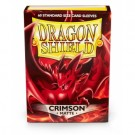 Dragon Shield Standard Sleeves - Matte Crimson (60 Sleeves)