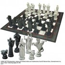 "(U) Noble Collection Wizard Chess Set ""Harry Potter"" (Used/Damaged Packaging) /Toys"