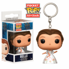 Funko Pocket POP! Keychain - Beauty and the Beast Live Action - Belle Celebration (4cm) FK12397
