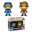 Funko POP! DC - Blue Beetle & Booster Gold Metallic Vinyl Figures 2-Pack 10cm FK24857