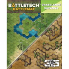 Galda spēle BattleTech Battle Mat Grasslands Savanna CAT35800D