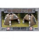 Battlefield in a Box - Bestial Huts (x2) - 30mm BB539