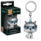 Funko POP! Keychain - Rick and Morty - Snowball Vinyl Figure 4cm FK32351