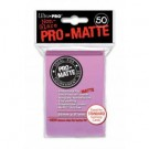 UP - Standard Sleeves - Pro-Matte - Non Glare - Pink (50 Sleeves) 84185