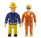 Fireman Sam – 2 figure Pack - Normal Sam & Normal Tom - Toy - Rotaļlieta